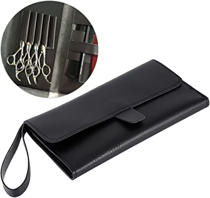 Bolsa de tijeras, multifuncional, bolsa de tijeras para el pelo, estuche para peinetas, soporte para peluquería, herramienta de barbería: Amazon.es: Belleza