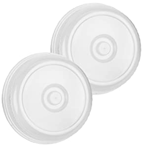 bogo Brands Splatter Guard Microwave Cover 2 Pack - Dome Plate Dish Covers for Food - Keeps Your Microwave Clean and is BPA Free