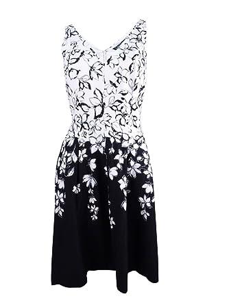 website for discount a few days away elegant and sturdy package LAUREN RALPH LAUREN Womens Marietta Floral Print V-Neck ...