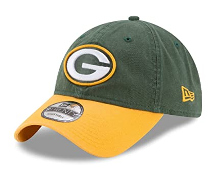 d07fdbe15 Image Unavailable. Image not available for. Color  Green Bay Packers New Era  NFL 9Twenty  quot Twill Core Classic quot  Adjustable Hat