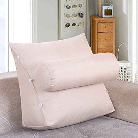 Amazon.com: Respaldo de cama de color sólido para lectura ...