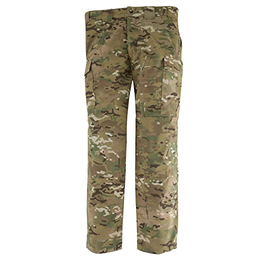 3168de0578243 Amazon.com: 5.11 Tactical Men's Combat Camo Cargo Pant, Multicamo Ripstop  Military Army Work Trousers, Teflon Finish for Stain Resistance, style  74350: ...