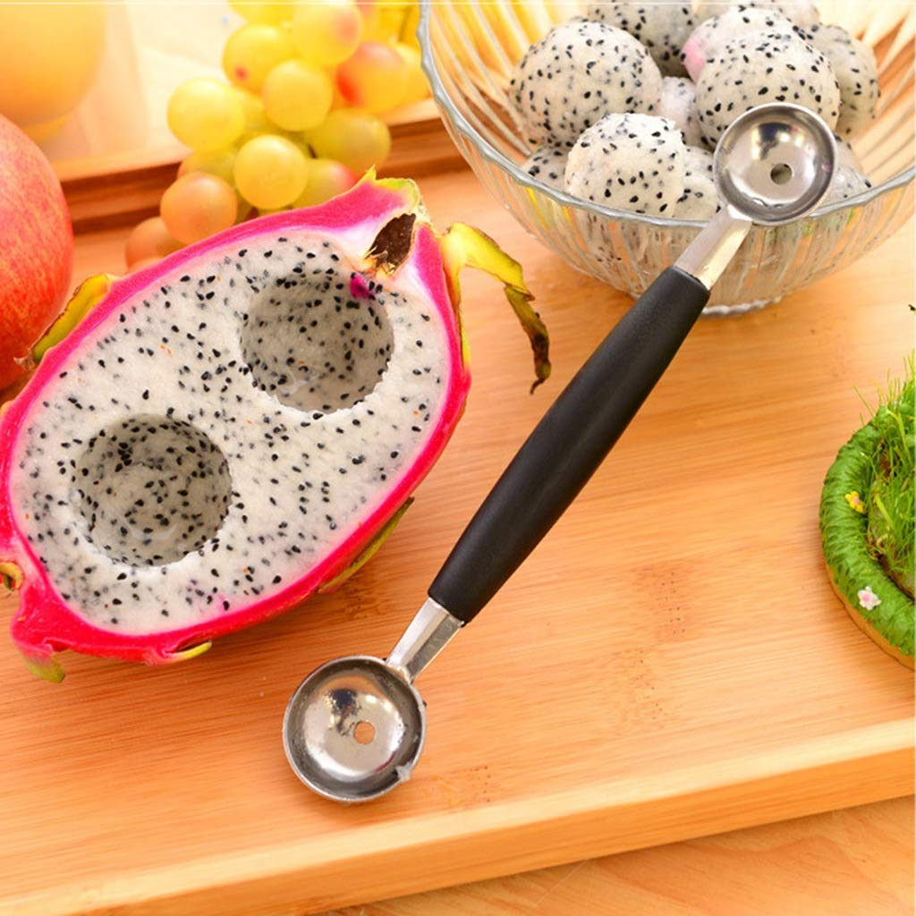 Fruit Carving Tools Fruit Carving Knife, Fruit Peeler Descaler, Stainless Steel Multifunction Kitchen Tool DIY Fruit Salad