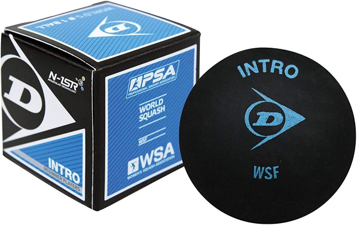 Dunlop Intro Beginner Squash Ball-single ball by Dunlop