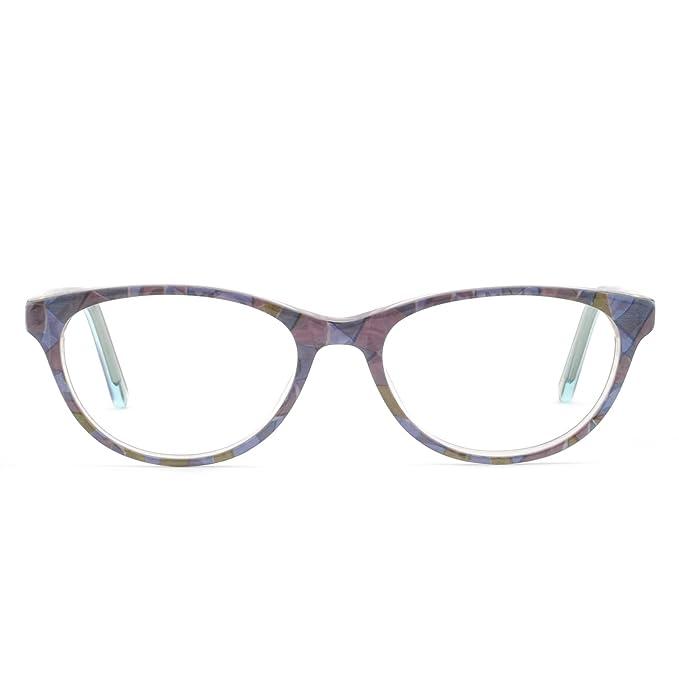715df276ad OCCI CHIARI Gafas de mujer marco gafas ópticas Montura de gafas gafas de  moda marco de