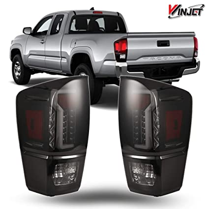 amazon winjet wj20 0466 05 taillights l s replacement for 2012 Toyota Camry Tail Lights winjet wj20 0466 05 taillights l s replacement for 2016 2019 toyota ta a black