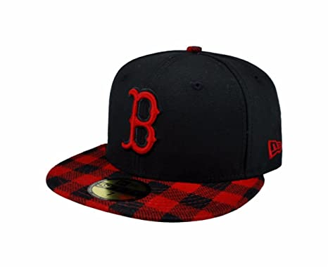 ... discount code for new era 59fifty mlb boston red sox hat premium fitted  black with red ... 348c674e480