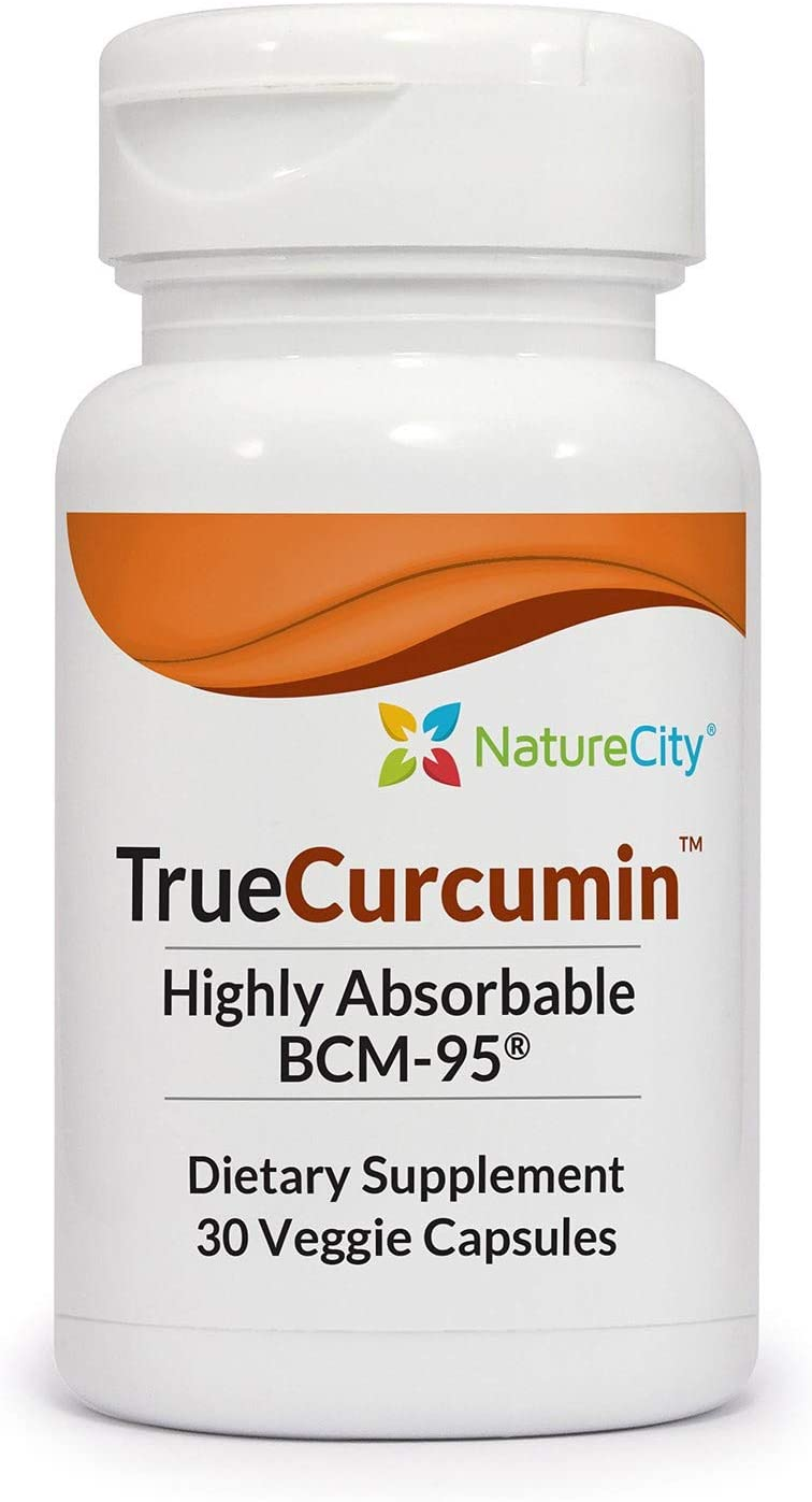 True-Curcumin with Turmeric Essential Oil & BCM-95 - Joint + Cognitive & Joint Support