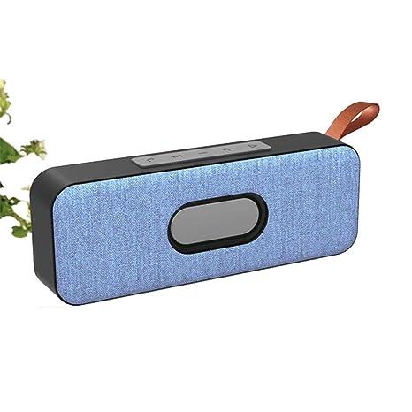 Altavoz Bluetooth inalámbrico portátil Compatible con ...