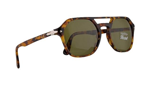 migliori scarpe da ginnastica 2da75 21d13 Persol Uomini PO3206S occhiali da sole w/verde lente 54 ...