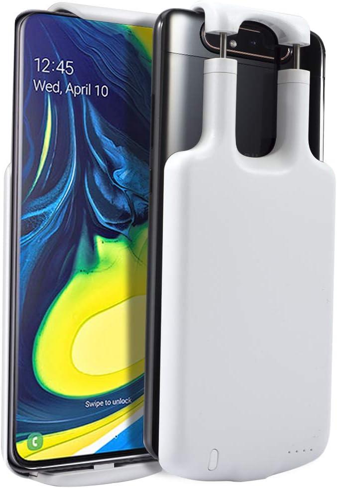 BAIRLY Funda Batería para Samsung Galaxy A80 A90 5000mAh Cargador ...