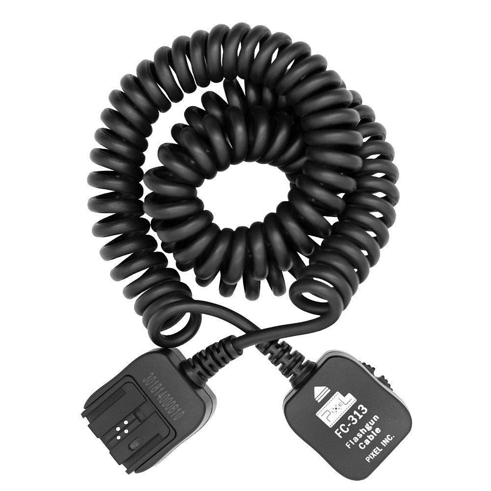 PIXEL FC-313/10M TTL-Off-Camera Flash Cord, Compatible with Sony DSLR Camera I-TTL, BL, FP,1/8000S Flash Speedlite