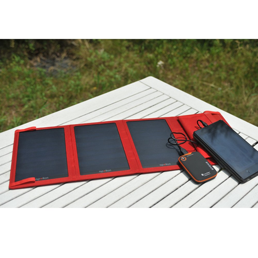 Cargador Solar Portatil de 5 Watts de Salida THE HEMP KING