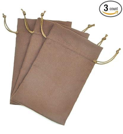Amazon.com: Fantasy vida tela de ante bolsa de cordón ...