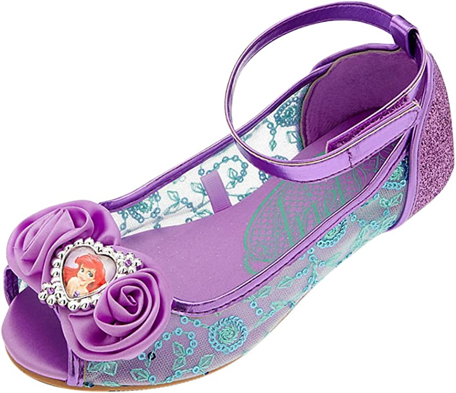 0c995f7312 Store Deluxe Ariel The Little Mermaid Shoes Flats Flowers