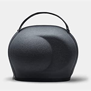 Devialet Phantom Premier Cocoon, High-Tech and Lightweight Protective Carrying Case, Mercury Grey, Grey/Turquoise, (BB280)