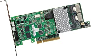 LSI Logic Megaraid Eight-Port 6Gb/s PCI Express 3.0 SATA+SAS RAID Controller LSI00330