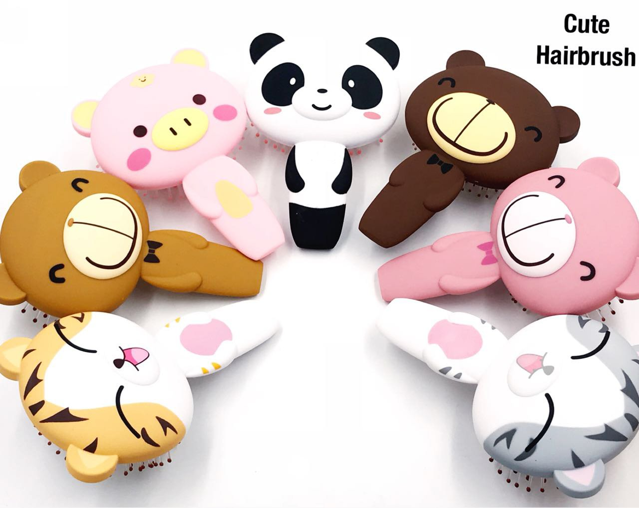 Buy Premium Silicone 3d Cartoon Kids Hair Brush Hair Comb Cute Hair Brush For Children 1pcs Online At Low Prices In India Amazon In