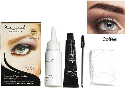 Kit de tinte profesional para cejas, diseño de cejas, larga ...