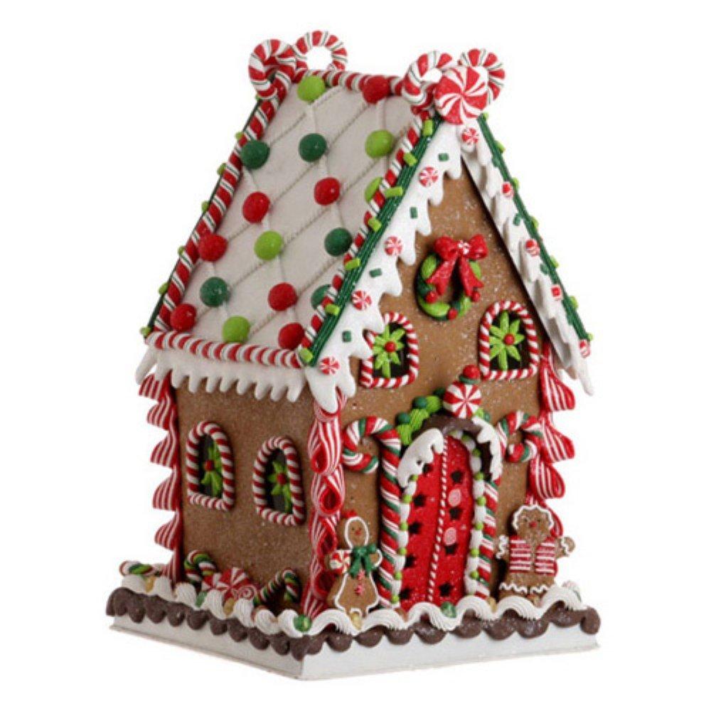 RAZ Imports 13.5 in. Gum Drop Gingerbread House by Raz