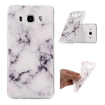 coque samsung j3 2016 marbre blanc