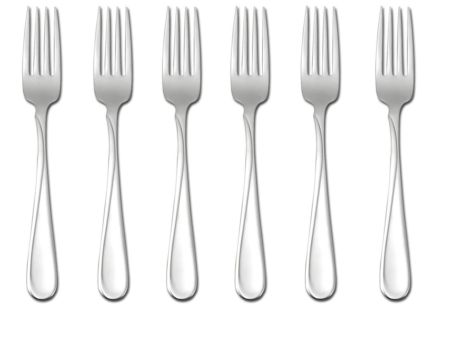 Oneida Flight Dinner Forks, Set of 6 by Oneida (Image #1)