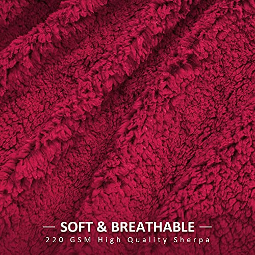 Pawque Decorative Soft Fluffy Faux Fur Throw Blanket 60