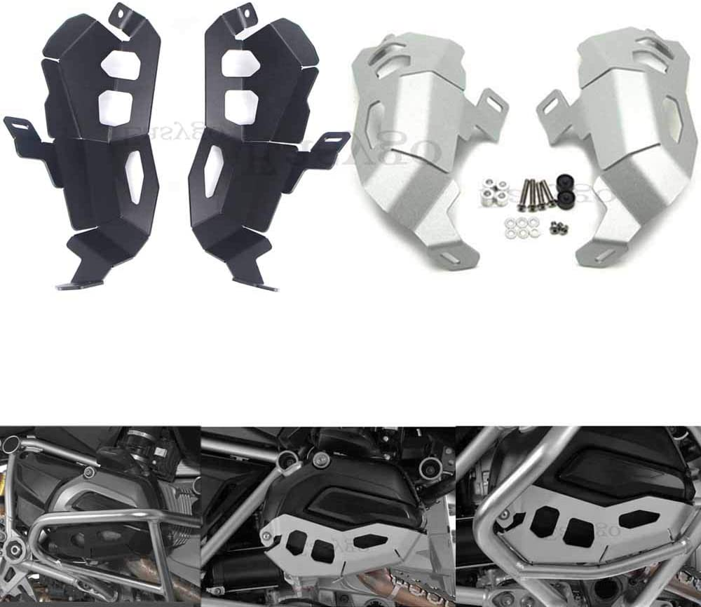 Easygo Engine Cylinder Head Valve Cover Guard Protector for BMW R1200GS R1200R R1200RS ADV R1200RT R 1200 GS//R//RS//RT LC 2013-2020 Black