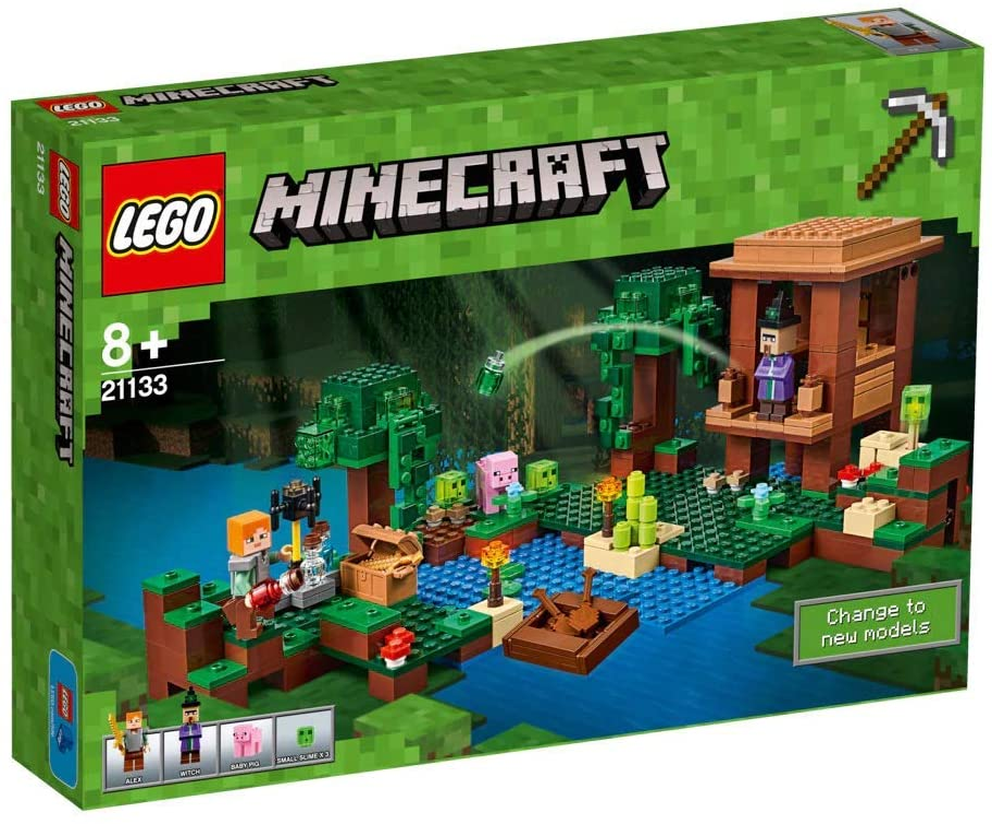 Lego Minecraft - Cabaña de la Bruja (21133): Amazon.es: Juguetes y juegos