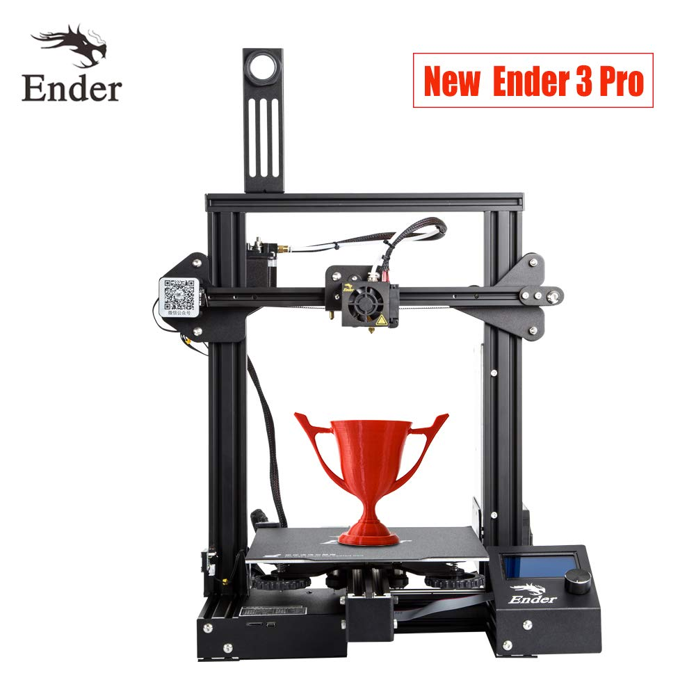 Creality Ender 3 Pro 3D Printer with Upgrade Magnetic Build Surface Plate and UL Certified Power Supply 8.6' x 8.6' x 9.8'