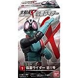 SHODO-X 仮面ライダー (10個入) 食玩・ガム (仮面ライダー)