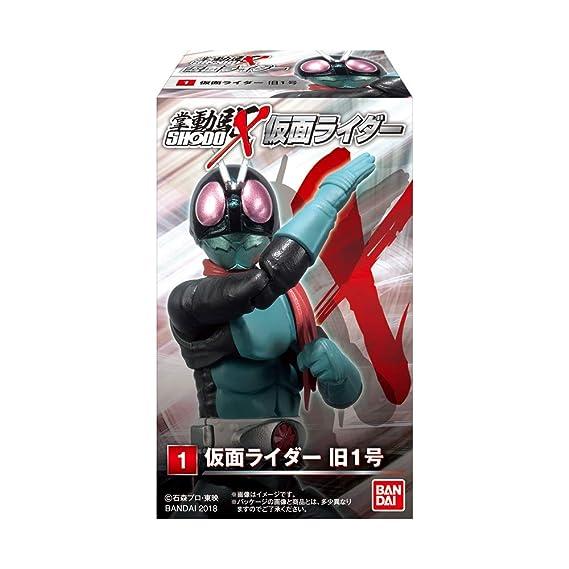 Amazon.com: SHODO-X - Kamen Rider 1 10Pack Box (Candy Toy ...
