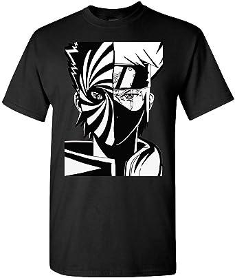 Kakashi and Obito Naruto - Camiseta - Negro - Small: Amazon.es: Ropa y accesorios