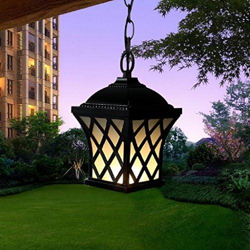 Europea lámparas al aire libre impermeable lluvia jardín corredor ...