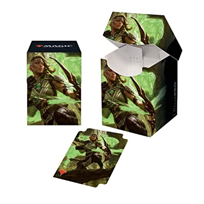 "Ultra PRO Magic: the Gathering - M20 ""Vivien, Arkbow Ranger"" PRO 100+ Deck Box: Toys & Games"