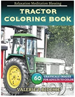 Amazon.com: Art of the Tractor Coloring Book (9781937747831): Lee ...
