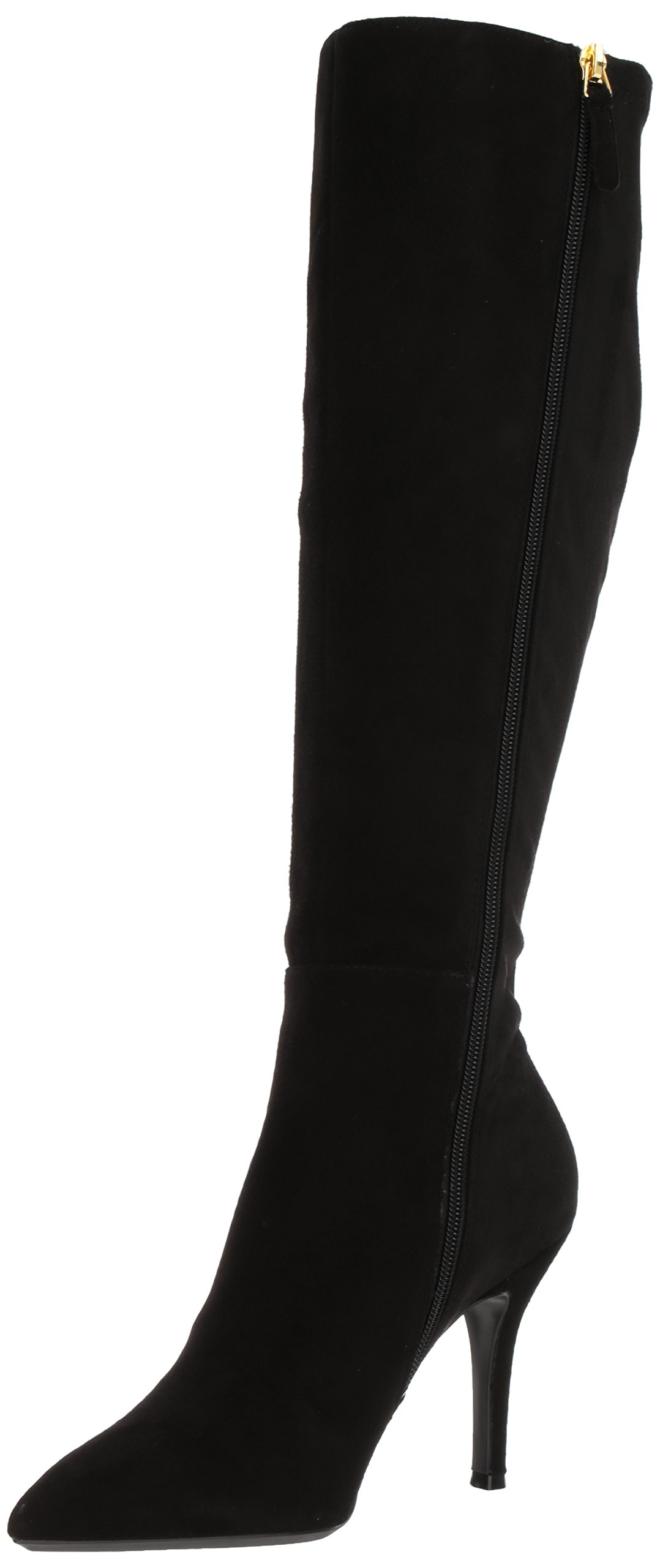 Nine West Women's Fallon, Black Suede, 6.5 Medium US