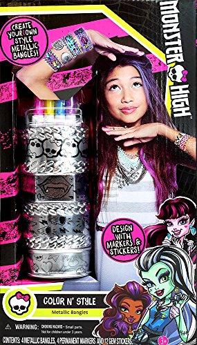 Monster High Color N Style Metallic Bangles Playset]()