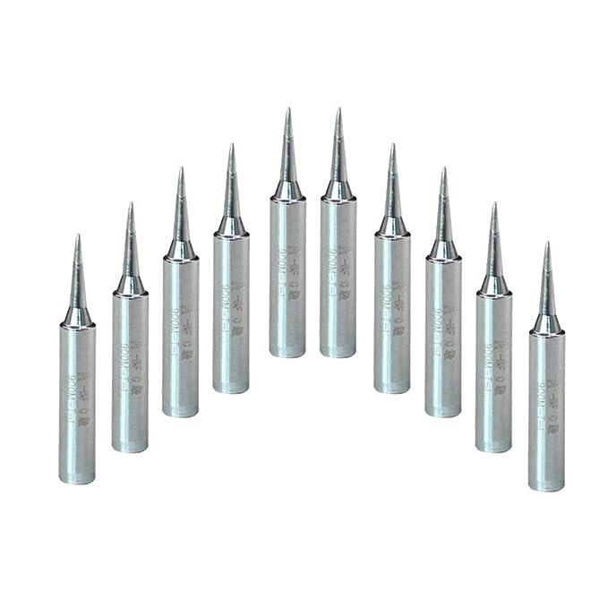 A-BF - Puntas de soldar para Hakko, Radio Shack, TENMA, Atten, Rápido, Aoyue, Yihua (10 unidades, 900 M-CT, soldadura de hierro): Amazon.es: Bricolaje y ...