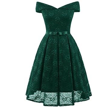 Mena Uk Frauen 1950 Vintage Retro Spitze-Cocktailparty-Kleid ...