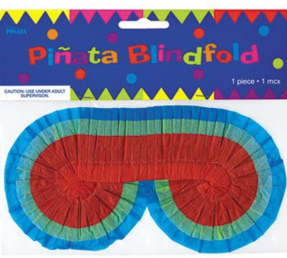 a Colorful Pinata Stick Party City Rainbow Star Pinata Supplies and 4 Pounds of Candy Include a Pinata a Blindfold