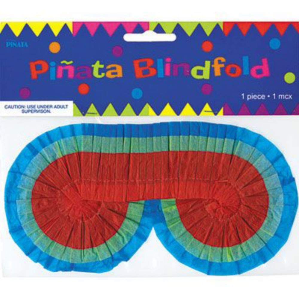 Party City Curious George Pinata Kit for Birthday Party, Includes Bat, Blindfold and 48pc Favor Pack by Party City (Image #3)