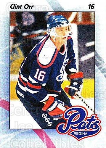 (CI) Clint Orr Hockey Prankster 1996-97 Regina Pats 20 Clint Orr