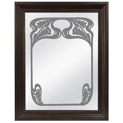 amazon com stickerchef etched bar mirror large personalized bar