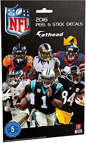 NFL 2016 Fathead Tradeables Decals product image