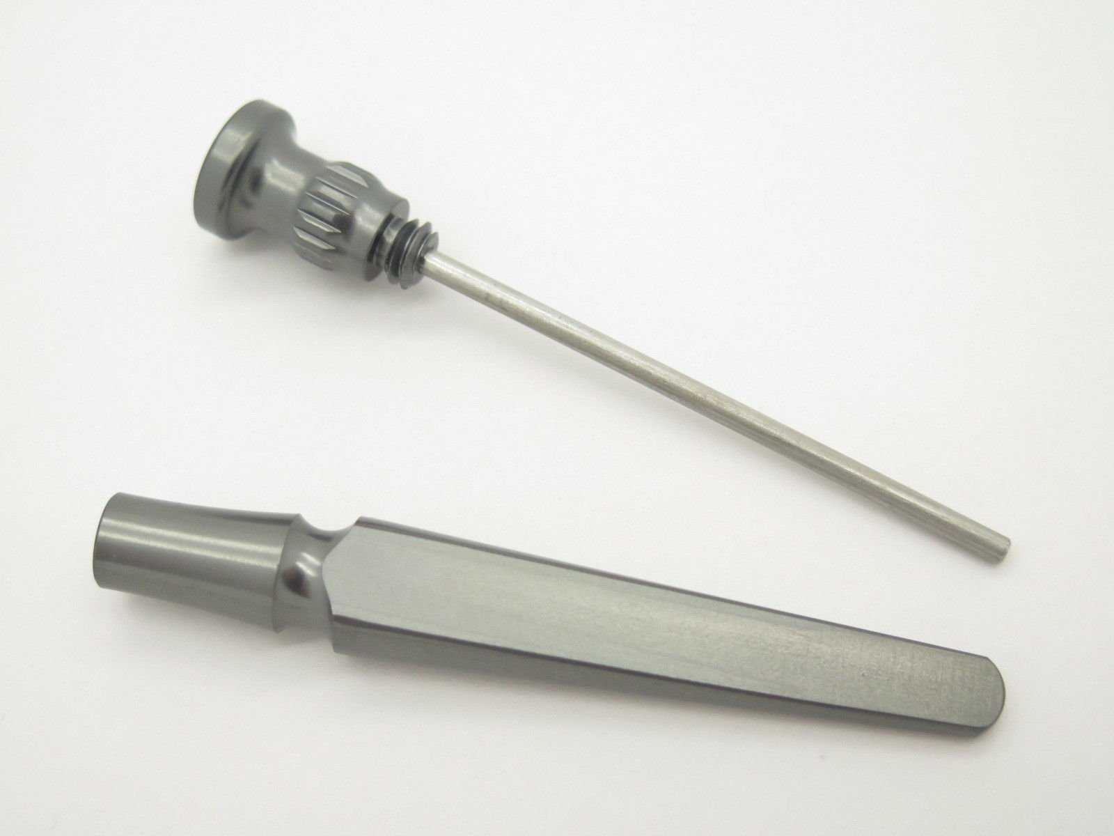 Legion Tobacco Pipe Tool 3 in 1 PLATINUM GRAY Aluminum Tamper Reamer Stainless Steel Pick USA