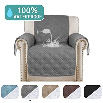 Super Turquoize 100 Waterproof Chair Covers Pet Furniture Covers For Leather Couch Furniture Protectors For Recliner Chair Sofa Shield Non Slip Great For Interior Design Ideas Inamawefileorg