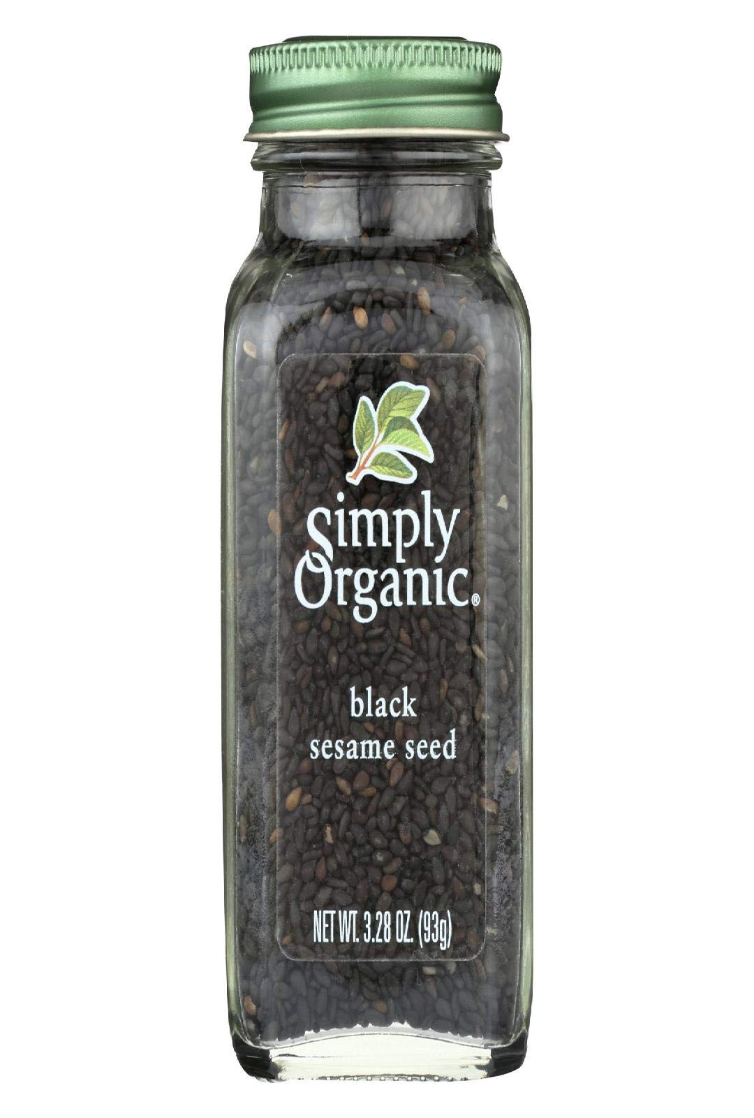 SIMPLY ORGANIC, SPICE, OG2, SESAME SEED, BLK - Pack of 6