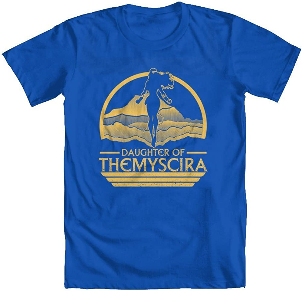 GEEK TEEZ Daughter of Themyscira Youth Girls T-Shirt