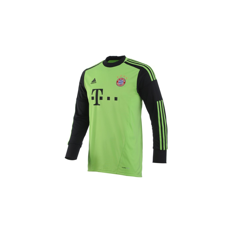 Adidas Bayern München Torwarttrikot 12 13 XXXL Grün-Schwarz